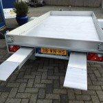 Anssems autotransporter 340x170cm autotransporters Aanhangwagens Zuid-Holland achterkant