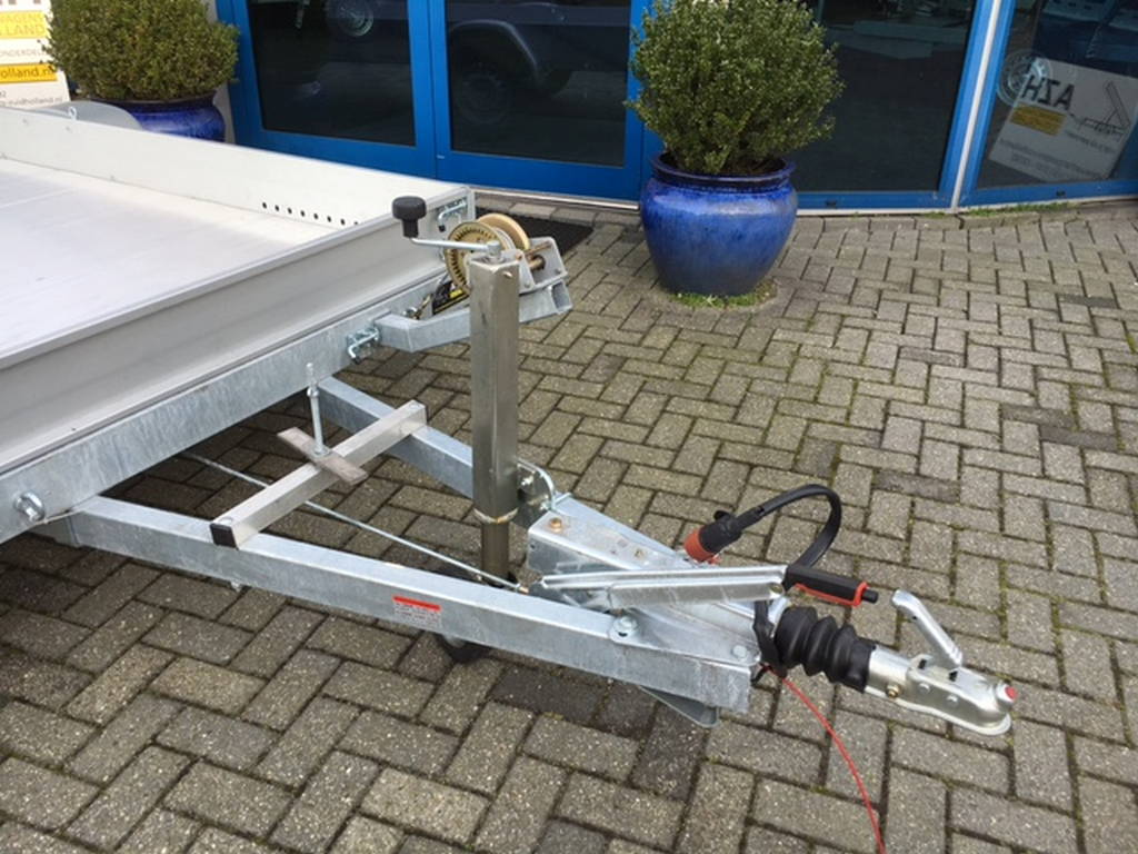 Anssems autotransporter 340x170cm autotransporters Aanhangwagens Zuid-Holland dissel