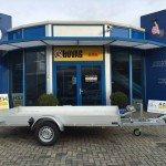 Anssems autotransporter 340x170cm autotransporters Aanhangwagens Zuid-Holland zijkant