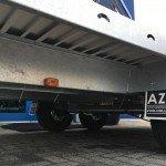 Anssems autotransporter 405x200cm 3000kg Aanhangwagens Zuid-Holland 2.0 onderstel