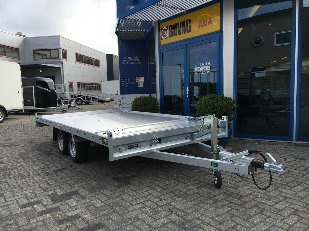 Anssems autotransporter 405x200cm 3000kg Aanhangwagens Zuid-Holland 2.0 overzicht