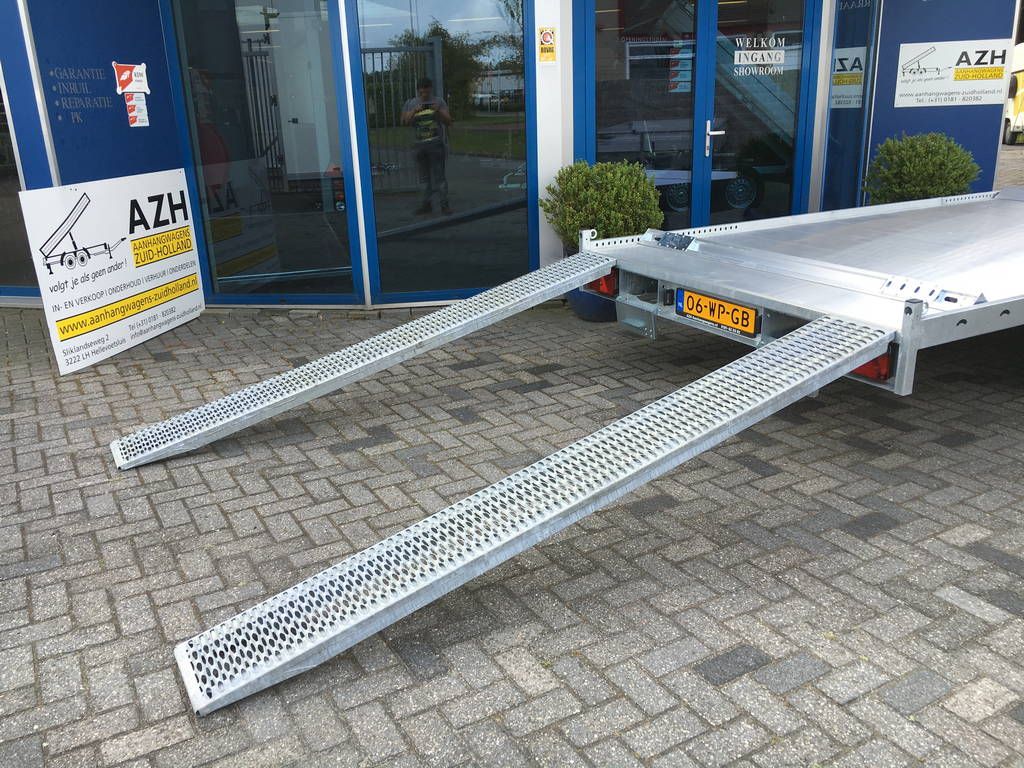 Anssems autotransporter 405x200cm 3000kg Aanhangwagens Zuid-Holland 2.0 rijplaten