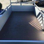 Anssems enkelas Alu 251x130cm geremd Aanhangwagens Zuid-Holland 2.0 bak