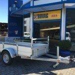 Anssems enkelas Alu 251x130cm geremd Aanhangwagens Zuid-Holland 2.0 hoofd