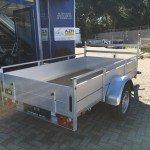 Anssems enkelas Alu 251x130cm geremd Aanhangwagens Zuid-Holland 2.0 zijkant