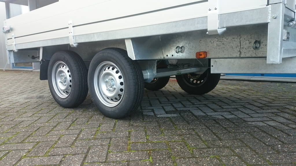 Anssems plateau 305x153cm 2000kg plateauwagens Aanhangwagens Zuid-Holland bindogen