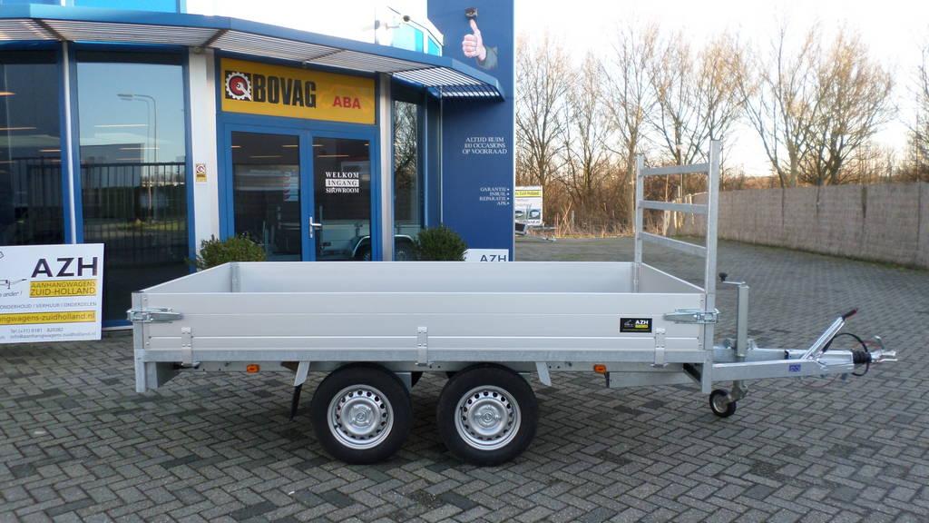 Anssems plateau 305x153cm 2000kg plateauwagens Aanhangwagens Zuid-Holland zijkant