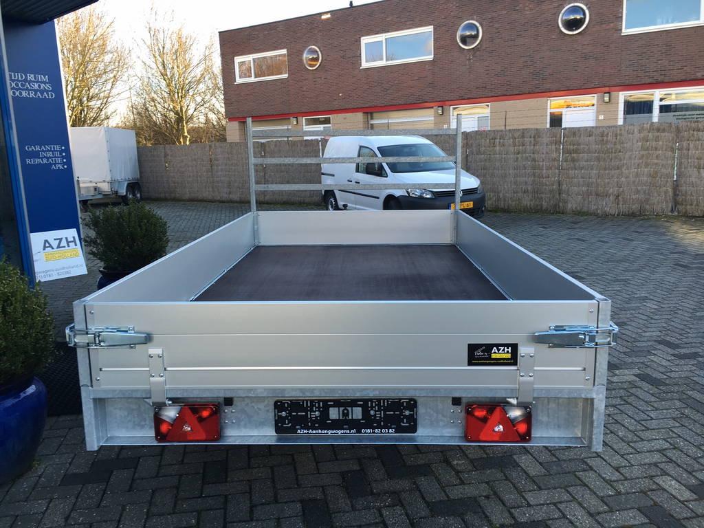 Anssems plateau 325x178cm 2000kg plateauwagens Aanhangwagens Zuid-Holland bak