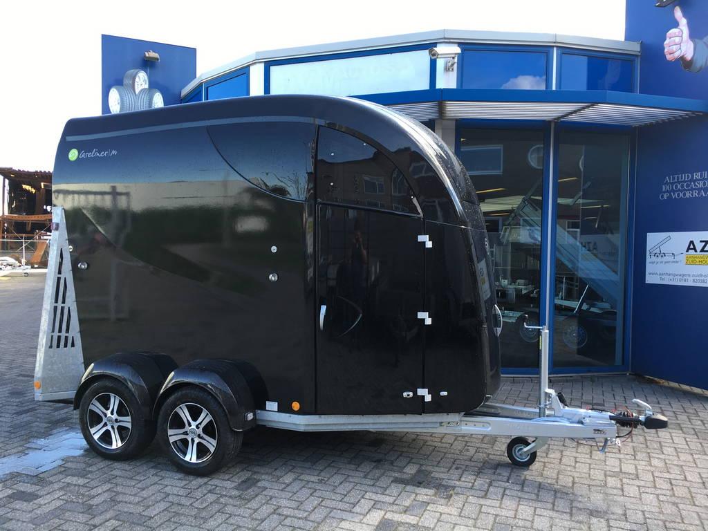 Bucker Careliner poly 2 paards trailer paardentrailers Aanhangwagens Zuid-Holland 2.0 hoofd