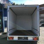 Easyline gesloten 251x153x147 750kg Aanhangwagens Zuid-Holland geopend 2.0