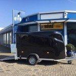 Easyline gesloten 300x151x170cm Aanhangwagens Zuid-Holland zijkant