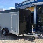 Easyline gesloten aanhanger 302x150x195cm 1300kg Aanhangwagens Zuid-Holland 2.0 voorkant