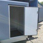 Easyline gesloten aanhanger 302x150x195cm 1300kg Aanhangwagens Zuid-Holland 2.0 zijdeur