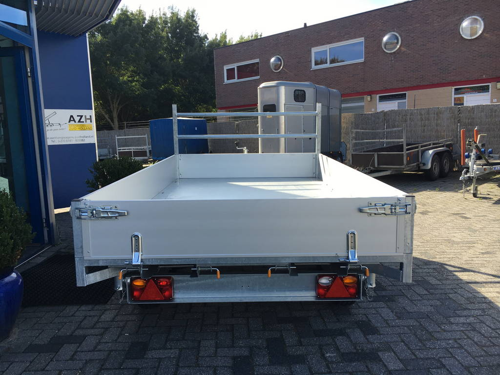 Easyline kipper 300x180cm 2600kg kippers Aanhangwagens Zuid-Holland achter gesloten 2.0