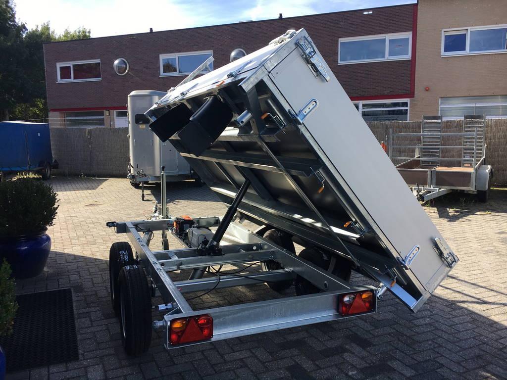 Easyline kipper 300x180cm 2600kg kippers Aanhangwagens Zuid-Holland gekiept 2.0