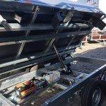 Easyline kipper 300x180cm 2600kg kippers Aanhangwagens Zuid-Holland motor 2.0