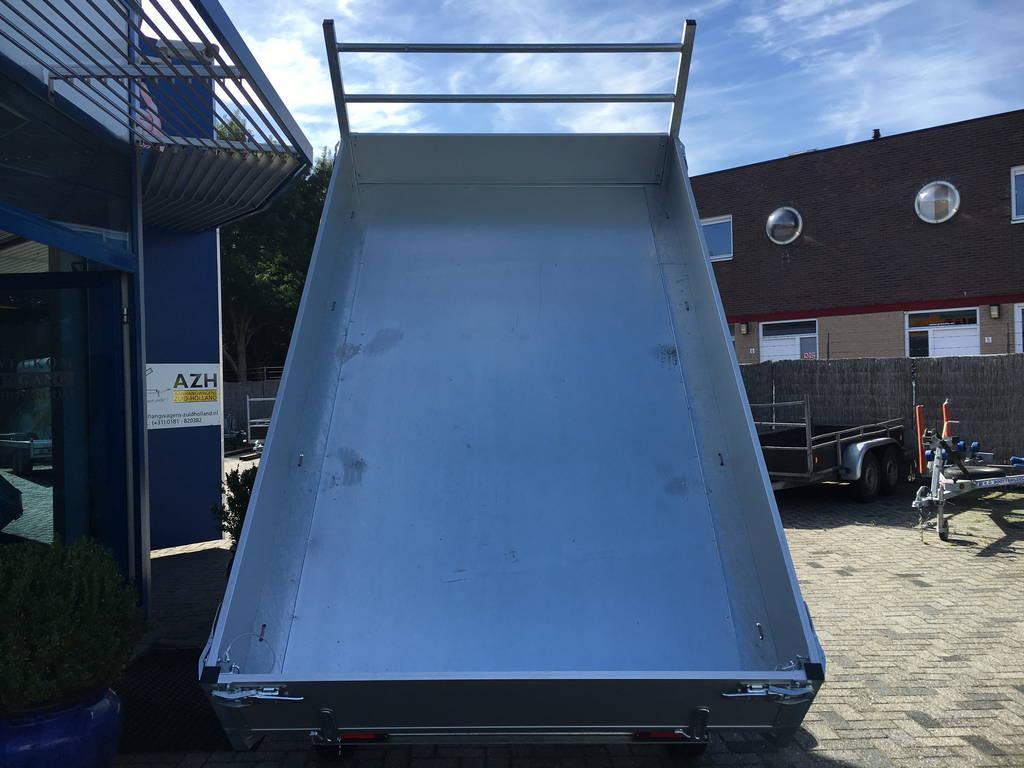 Easyline kipper 300x180cm 2600kg kippers Aanhangwagens Zuid-Holland open achterkant 2.0
