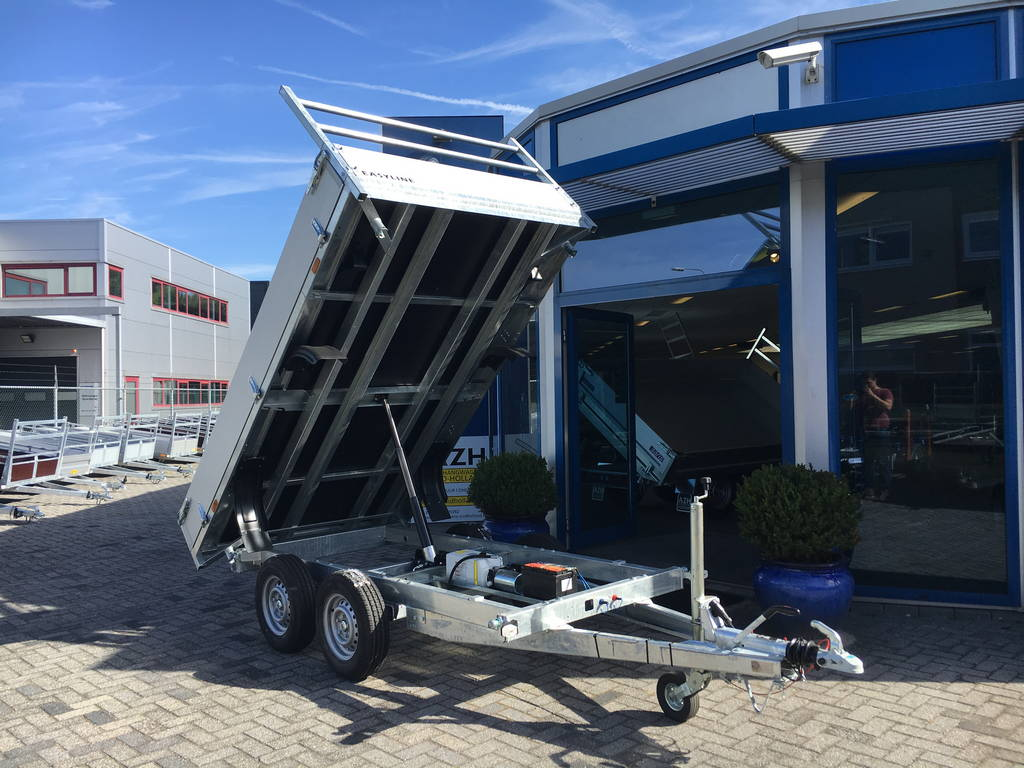 Easyline kipper 300x180cm 2600kg kippers Aanhangwagens Zuid-Holland open overzicht 2.0