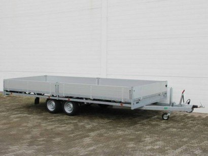 Hulco plateau 502x203cm 3000kg plateauwagens Aanhangwagens Zuid-Holland hoofd