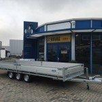 Hulco plateau 611x203cm 3500kg 3-as Aanhangwagens Zuid-Holland hoofd nw