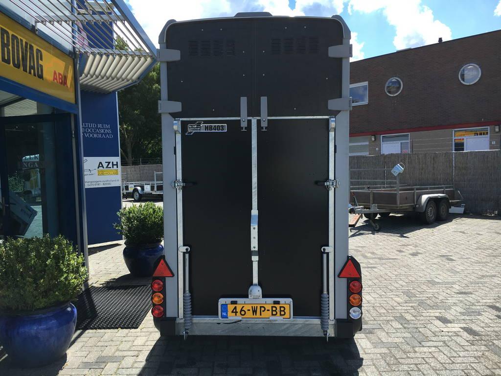 Ifor Williams HB403 1,5 paards trailer Aanhangwagens Zuid-Holland 2.0 achter dicht