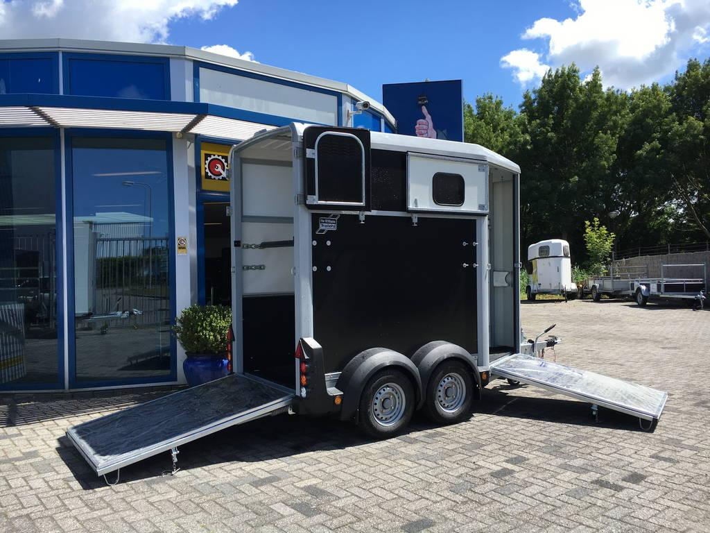 Ifor Williams HB403 1,5 paards trailer Aanhangwagens Zuid-Holland 2.0 volledig open