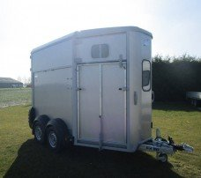 Ifor Williams HB506 2 paards trailer Aanhangwagens Zuid-Holland overzicht