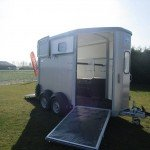 Ifor Williams HB506 2 paards trailer Aanhangwagens Zuid-Holland vooruitloop