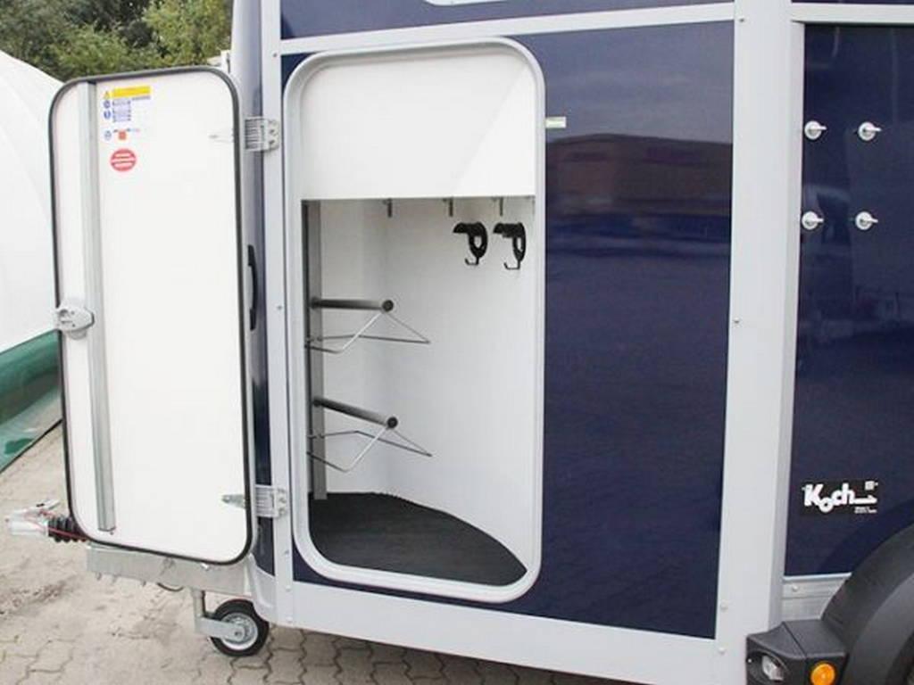 Ifor Williams HB506 2 paards trailer Aanhangwagens Zuid-Holland zadelkamer