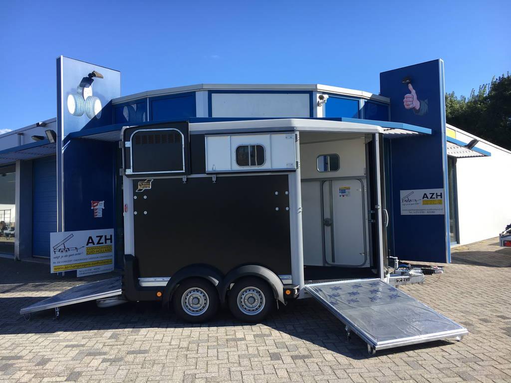 ifor-williams-hb511-2-paards-trailer-aanhangwagens-zuid-holland-compleet-open-2-0