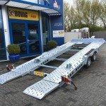 Ifor Williams autotransporter 510x230cm Aanhangwagens Zuid-Holland 2.0 achterkant