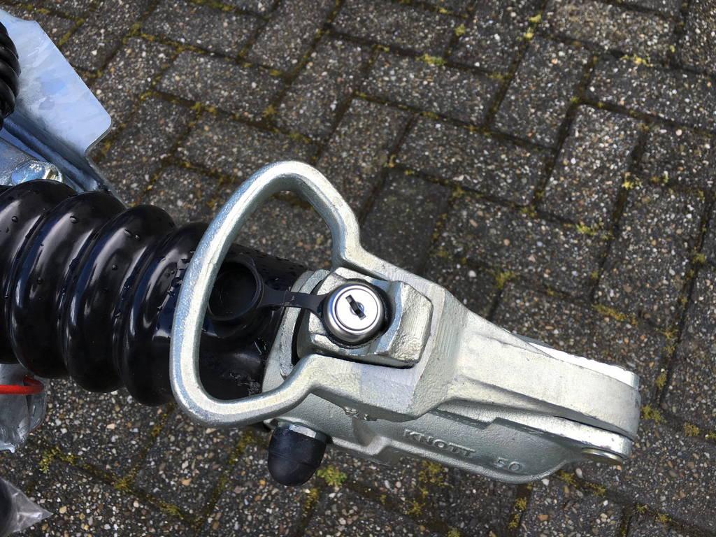 Ifor Williams autotransporter 510x230cm Aanhangwagens Zuid-Holland 2.0 koppelingslot