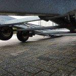 Ifor Williams autotransporter 510x230cm Aanhangwagens Zuid-Holland 2.0 onderstel