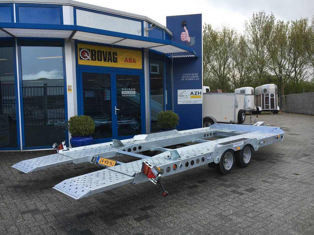 Ifor Williams autotransporter 510x230cm Aanhangwagens Zuid-Holland 2.0 zijkant