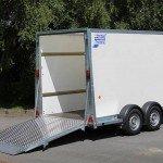 Ifor Williams bloemenwagen 364x173x214cm Aanhangwagens Zuid-Holland klep