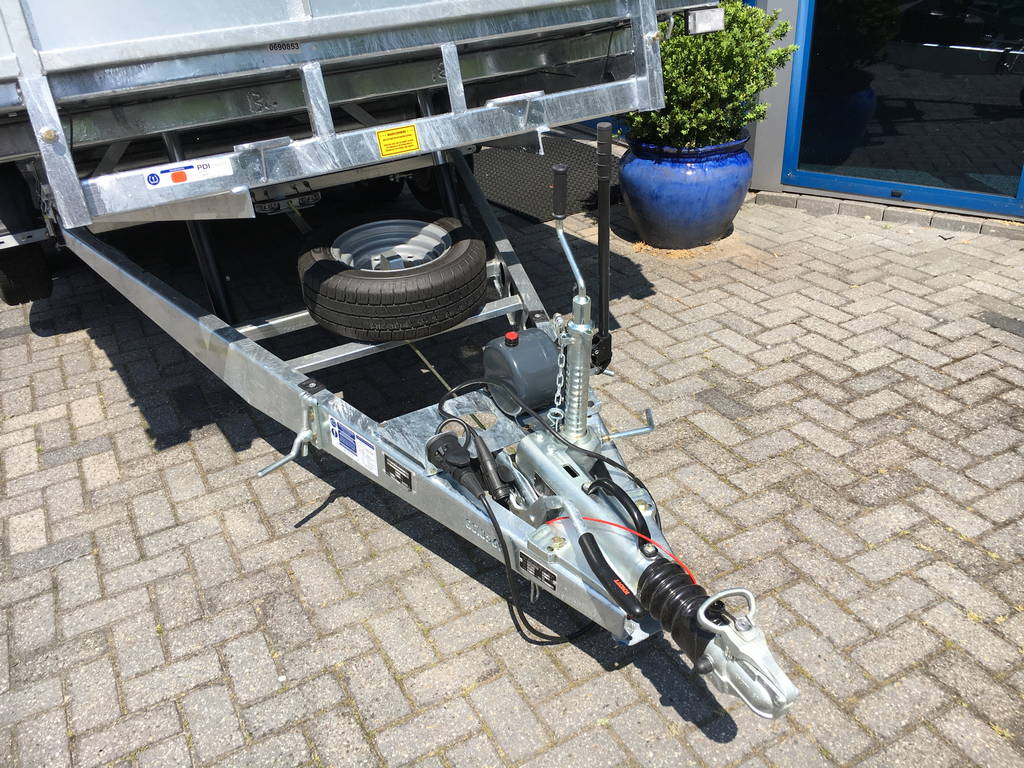 Ifor Williams kantelbaar 477x198cm 3500kg machinetransporter Aanhangwagens Zuid-Holland nw dissel