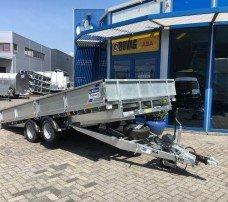 Ifor Williams kantelbaar 477x198cm 3500kg machinetransporter Aanhangwagens Zuid-Holland nw hoofd