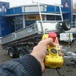 Ifor Williams kipper 362x195cm 3500kg kippers Aanhangwagens Zuid-Holland afstandsbediening