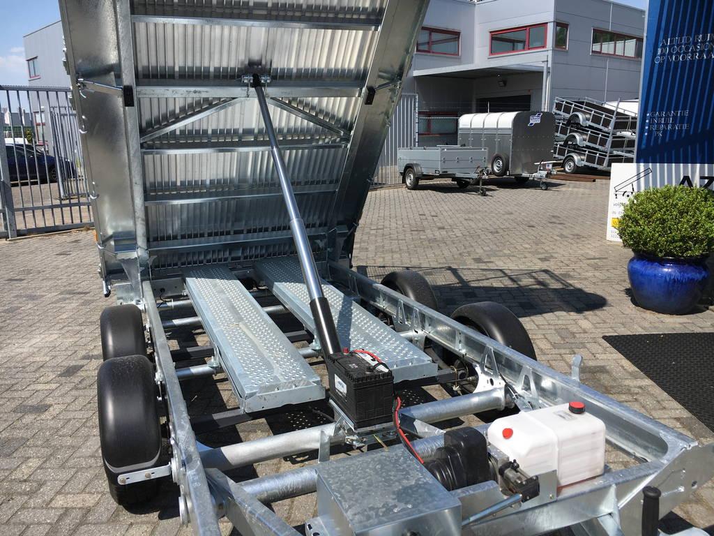 Ifor Williams kipper 362x195cm 3500kg kippers Aanhangwagens Zuid-Holland cilinder