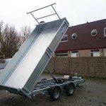 Ifor Williams kipper 362x195cm 3500kg kippers Aanhangwagens Zuid-Holland cillinder