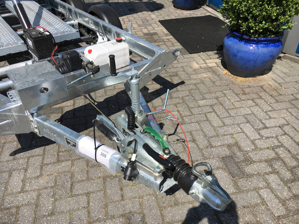 Ifor Williams kipper 362x195cm 3500kg kippers Aanhangwagens Zuid-Holland dissel