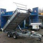 Ifor Williams kipper 362x195cm 3500kg kippers Aanhangwagens Zuid-Holland hoofd