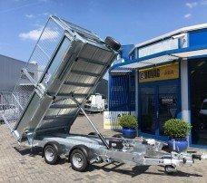 Ifor Williams kipper 362x195cm 3500kg kippers Aanhangwagens Zuid-Holland loofrekken