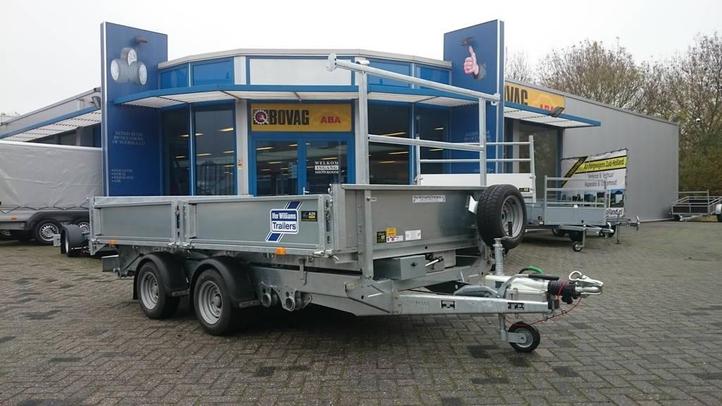 Ifor Williams kipper 362x195cm 3500kg kippers Aanhangwagens Zuid-Holland overzicht