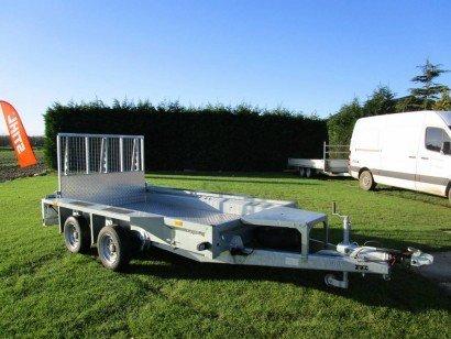Ifor Williams transporter 303x157cm 3500kg Aanhangwagens Zuid-Holland hoofd