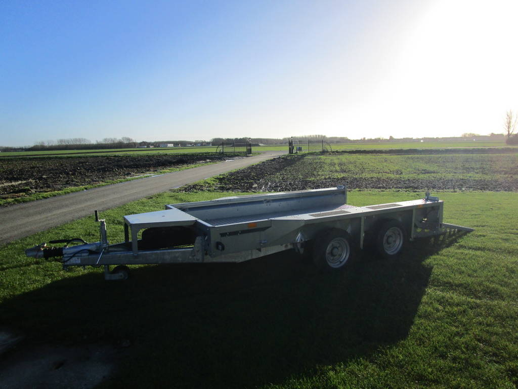 Ifor Williams transporter 303x157cm 3500kg Aanhangwagens Zuid-Holland overzicht