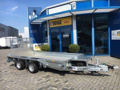 Ifor Williams transporter 366x157cm 3500kg Aanhangwagens Zuid-Holland nw hoofd
