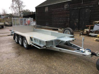 Ifor Williams transporter 429x178cm 3-as Aanhangwagens Zuid-Holland hoofd 2.0