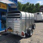 Ifor Williams veetrailer 244x121x153cm Aanhangwagens Zuid-Holland nw achterkant