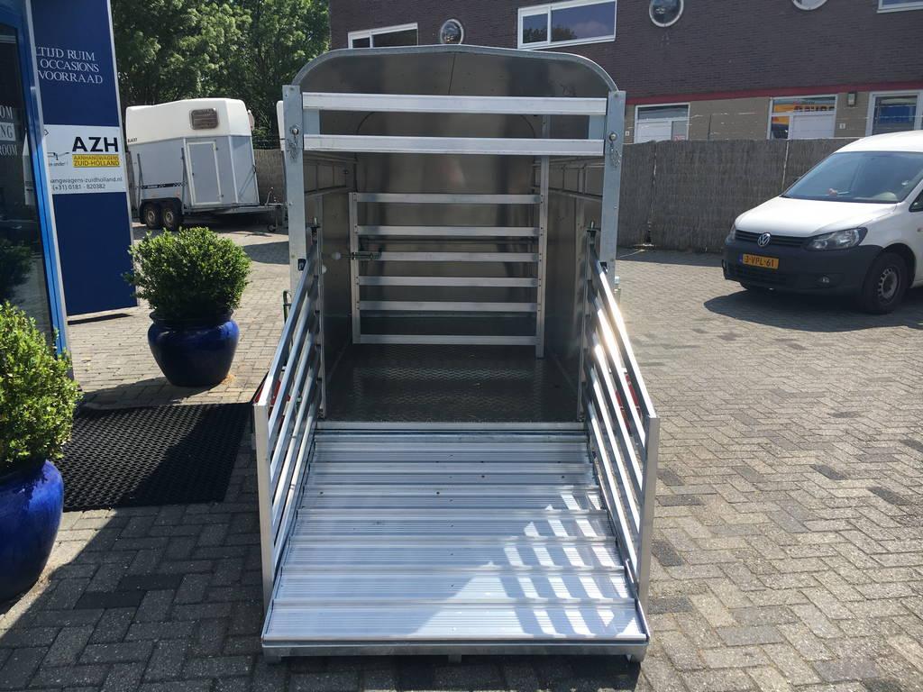 Ifor Williams veetrailer 244x121x153cm Aanhangwagens Zuid-Holland nw achterkant open